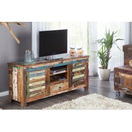 TV asztal JATAKAR 150 cm - sokszínű