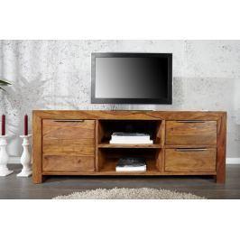 TV asztal LAOSE 135 cm - természetes