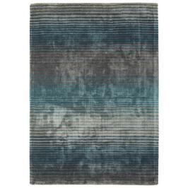 HOLBORN csíkos szőnyeg 160x230cm - türkiz