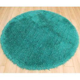 Cascade kerek szőnyeg 160cm - türkiz/kék