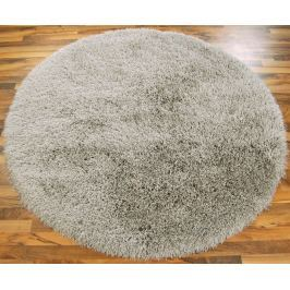 Cascade kerek szőnyeg 160cm - ezüst