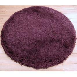 Cascade kerek szőnyeg 160cm - lila/rózsaszín
