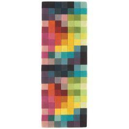 FUNK - viacfarebná koberec 70X200