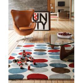 Matrix szőnyeg MAX33 Sofia - piros/kékeszöld