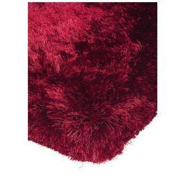 Plush bolyhos szőnyeg - piros
