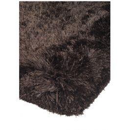 Plush bolyhos szőnyeg - sötét/csokoládé