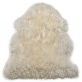 Szőrme Single Sheepskin - fehér