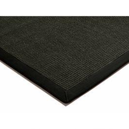 Szizálkender szőnyeg - fekete
