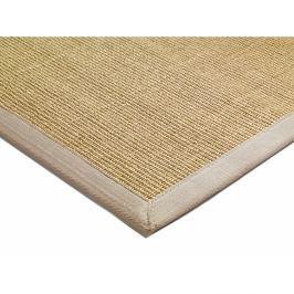 Lemovaný Sisal koberec 160x230cm ľanovaná