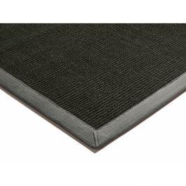 Szizálkender szőnyeg - fekete szürkével szegélyezve