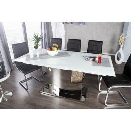 Széthúzható étkezőasztal CORDO 180-220 cm - fehér