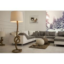 Állólámpa SEVER SEAN 160 cm - krém színű