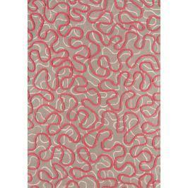 Szőnyeg SQUIGGLE - rózsaszín