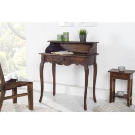 Íróasztal HEWING - kávé színű
