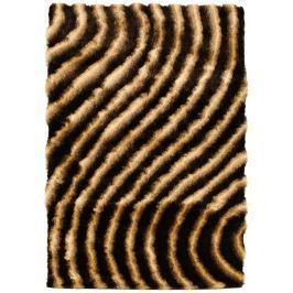 Shadow 160x230cm - csokoládé Curve