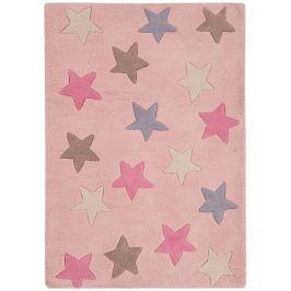 Szőnyeg CANDY Stars - Pink
