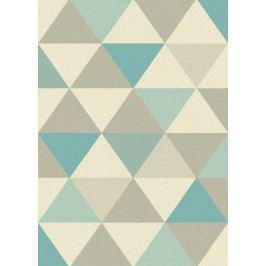 Szőnyeg FOCUS FC02 Triangles Blue