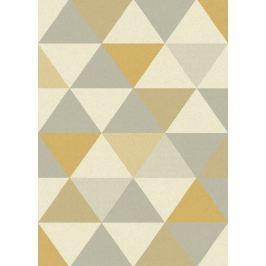 Szőnyeg FOCUS FC03 Triangles Ochre
