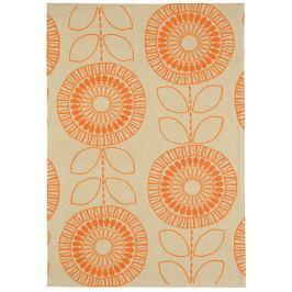 Szőnyeg ONIX Flower Orange