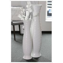 Váza IMPER, 103 cm - fehér