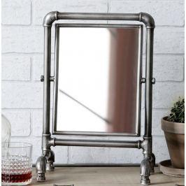 Zrkadlo FACTOR 36,5x25 cm - antracitová