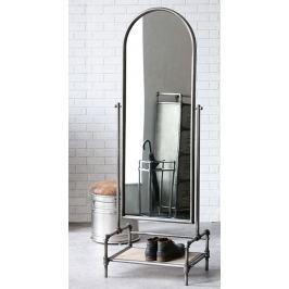 Zrkadlo FACT 166x57 cm - antracitová