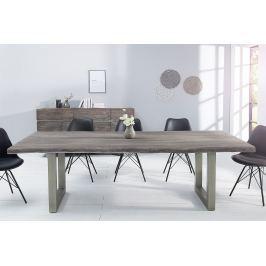 Étkezőasztal MAMAT 200 cm - szürke