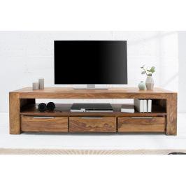 TV asztal MAKASSAR 135 cm - természetes