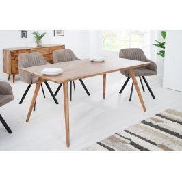 Jedálenský stôl MOZAIKA 160 cm - prírodná