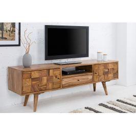 TV stolík MOZAIKA 140 cm - prírodná