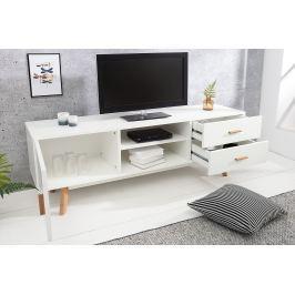 TV stolík SKANDINAVIA 150 cm - biela