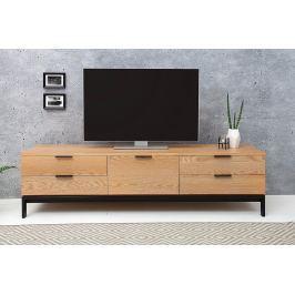 TV stolík MODERNA 170 cm - prírodná