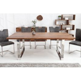 Jedálenský stôl WOTANA 160 cm - prírodná