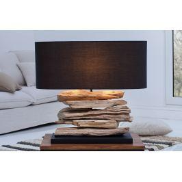 Stolná lampa RIVER - čierna