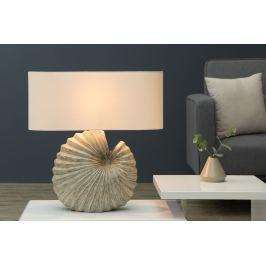 Stolná lampa SHELL 55 cm - béžová
