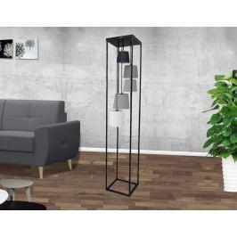 Stojaca lampa SLEVE 180 cm - čierna