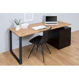 Písací stôl COMPACT 160 cm - čierna