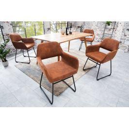 Stolička STANG - hnedá