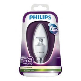 PHILIPS izzó LED E14; 4W = 25W; 2700K izzó