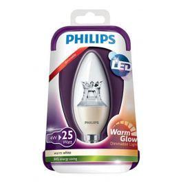PHILIPS izzó LED E14; 4W=25W szabályozható izzó