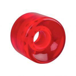 WORKER Átlátszó műanyag gördeszka kerék 60*45 mm piros