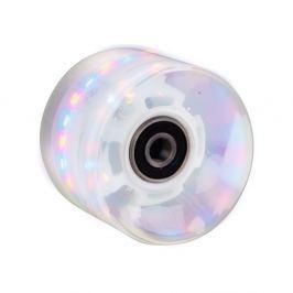WORKER Műanyag gördeszka világító kerék 60*45 mm ABEC 7 csapágyakkal fehér