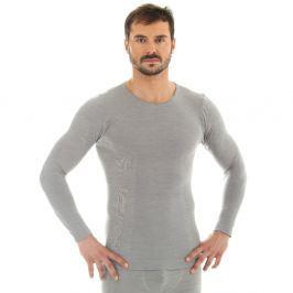 Brubeck hosszú ujjú trikó XL - szürke