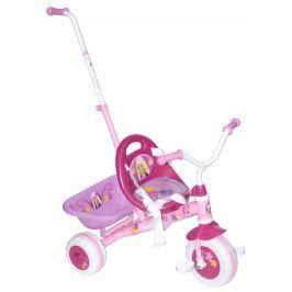 Barbie Gyerek tricikli Barbie toló rúddal
