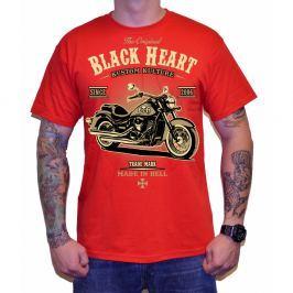 BLACKHEART Harley Red M - piros