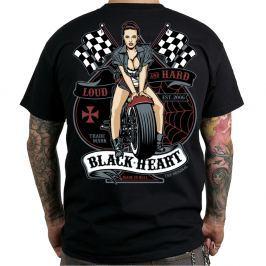 BLACKHEART Loud and Hard M - fekete