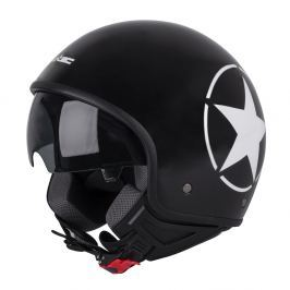 W-TEC FS-710S Revolt Black XS (53-54) - fekete csillaggal