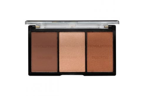 Makeup Revolution Ultra Sculpt & Contour arckontúr paletta árnyalat 04 Ultra Ligt/Medium 11 g Arckontúr
