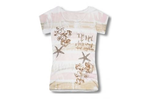 Női póló 0295 bézs Blúzok, pólók női pólók
